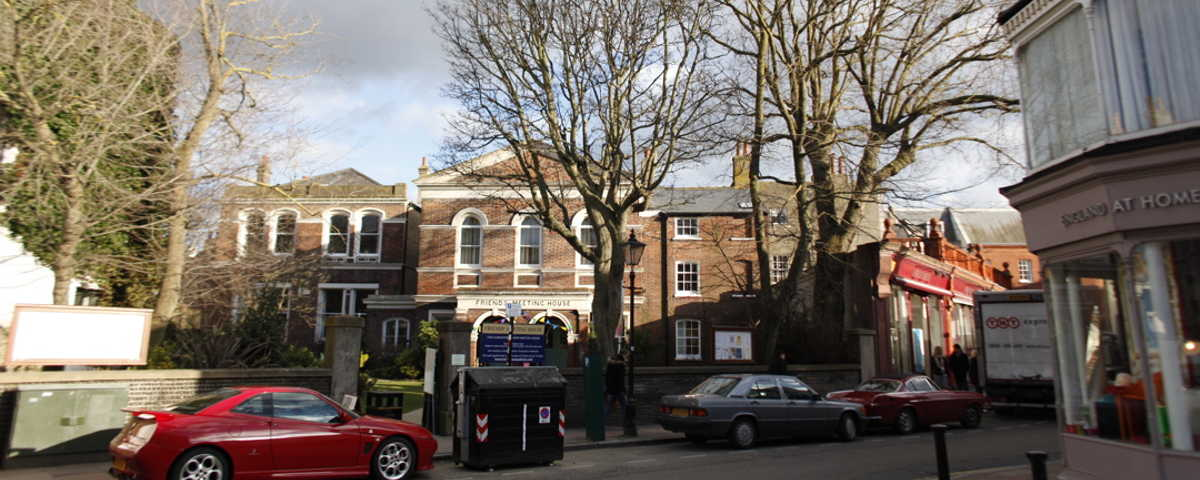 Brighton Quaker Meeting House - A ten minute walk from the railway station, five minutes from the sea